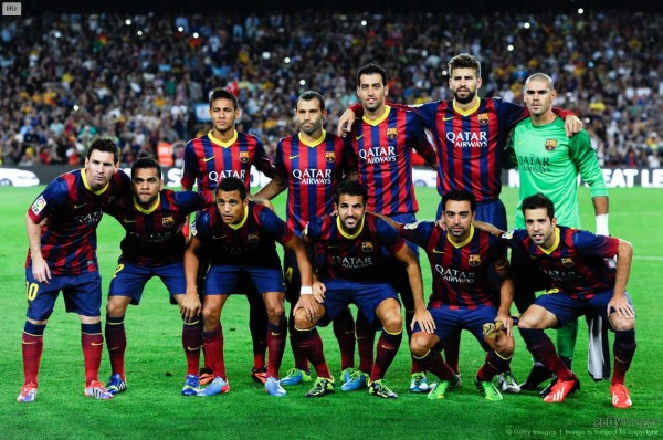 Neymar and Messi in Barcelona line-up vs Atletico Madrid