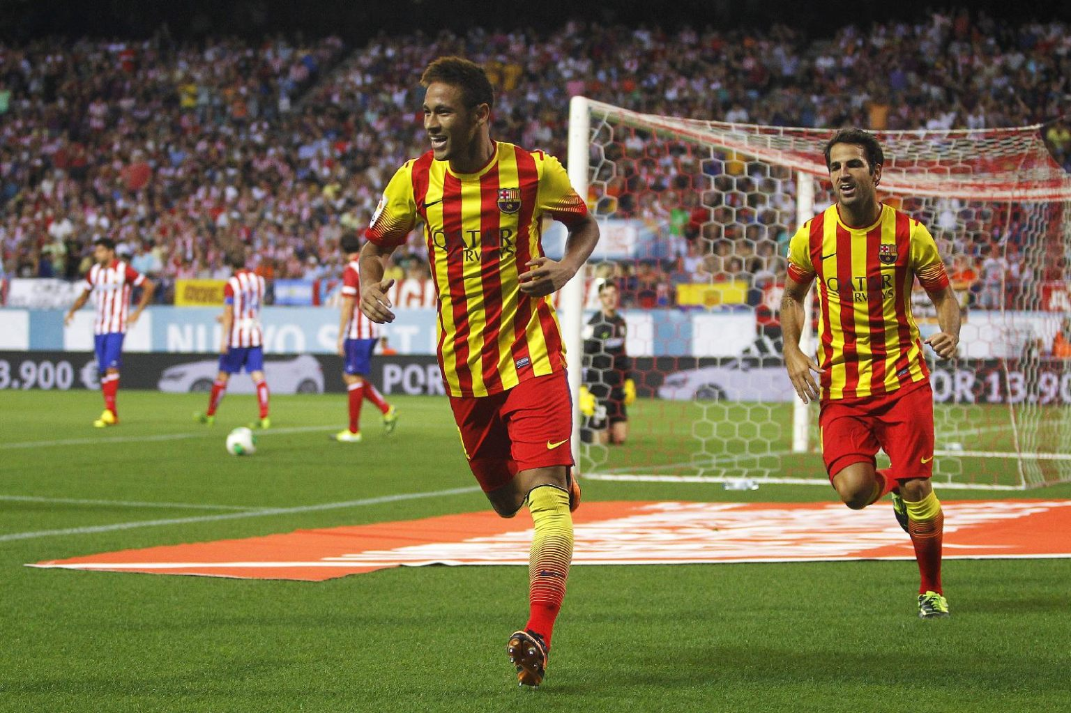 brand new 07ae9 a7c47 Atletico Madrid 1-1 Barcelona: Neymar comes from the bench ...