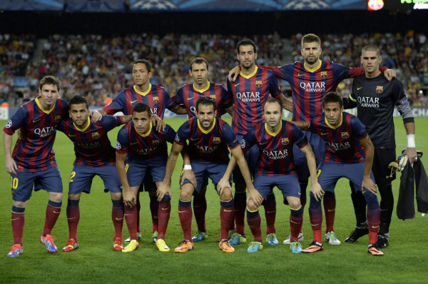 Barcelona line-up against Ajax, in Champions League debut