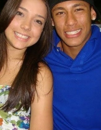 Carolina Dantas and Neymar, when they were together and dating