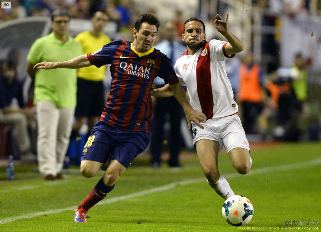 Messi fast sprint, in Rayo 0-4 Barcelona