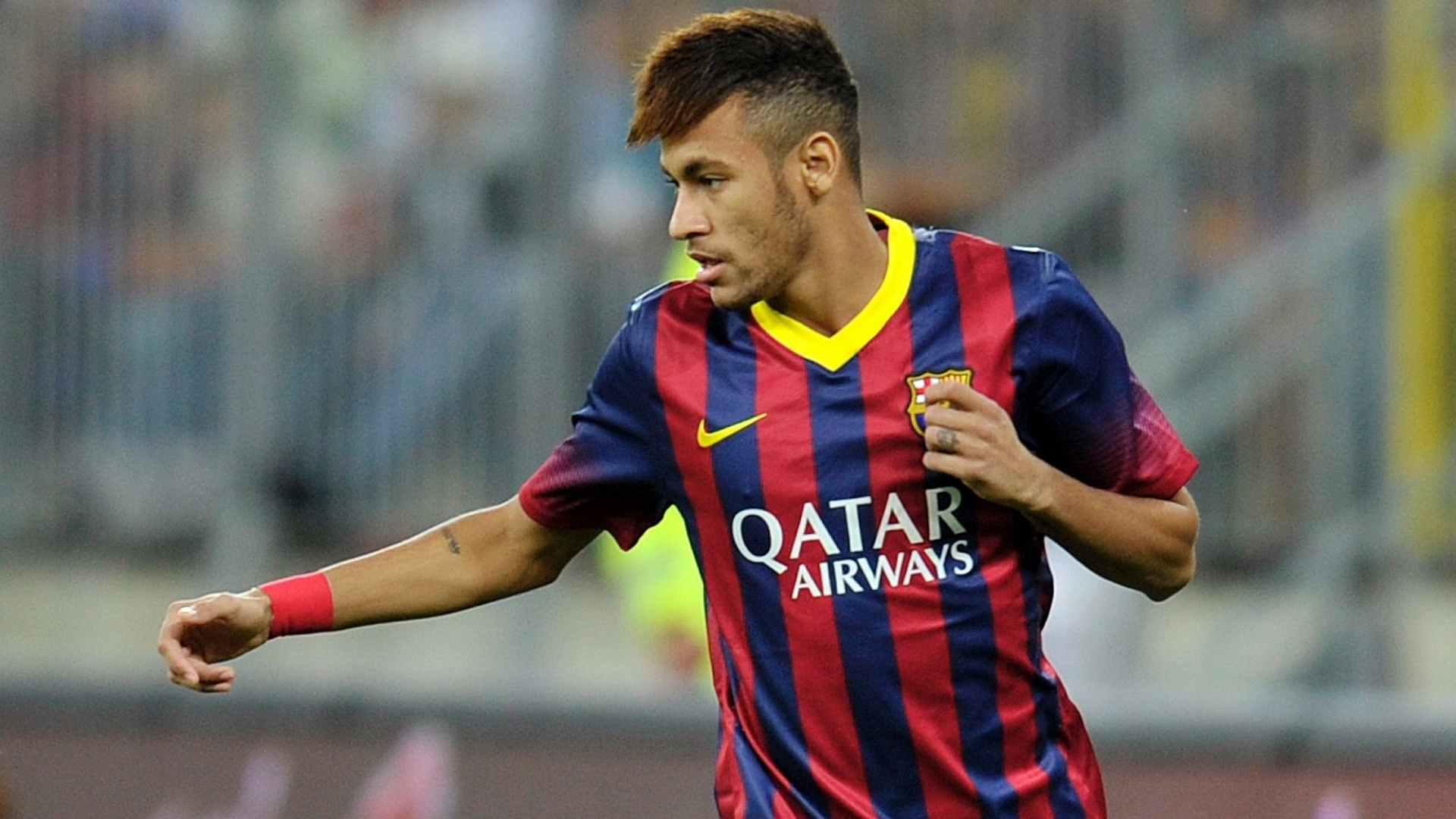 Neymar in FC Barcelona, in 2013-2014