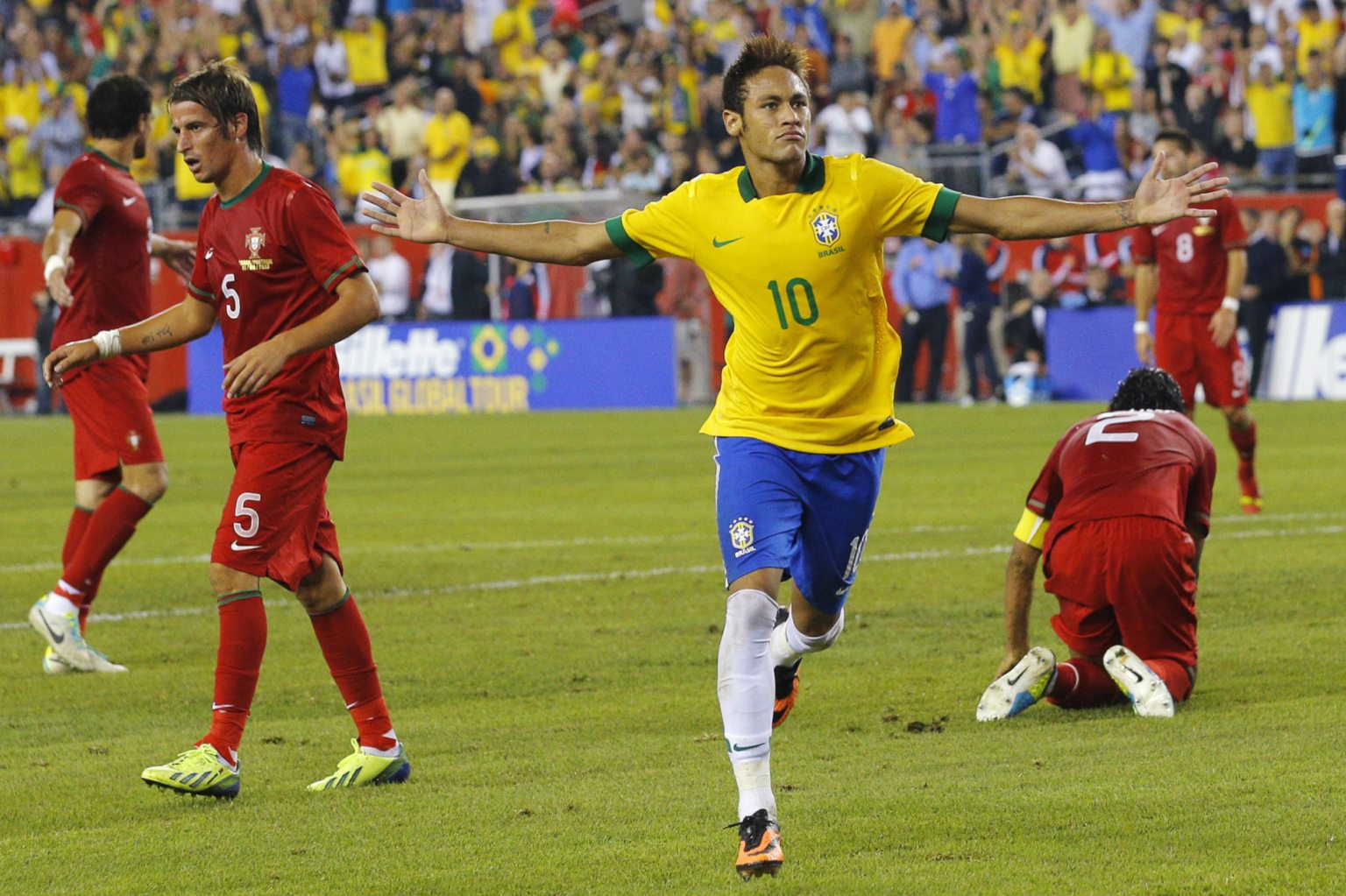 Brazil 3-1 Portugal: Neymar dismantled the Portuguese NT