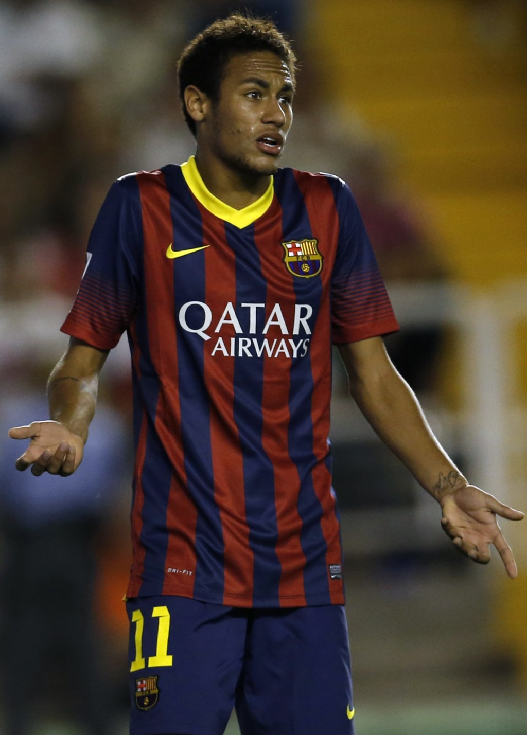 Neymar lost in translation in Barcelona