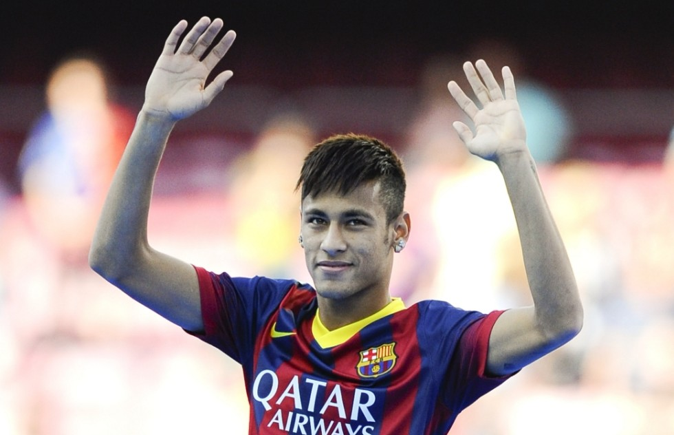 Neymar, the highest paid Brazilian footballer in the World