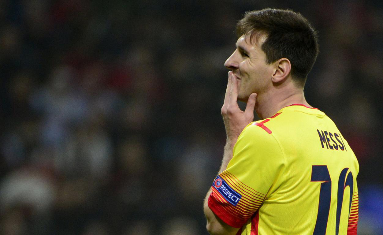 Lionel Messi disappointed in Barcelona vs Milan