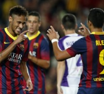 Barcelona 4-1 Valladolid: Neymar and Alexis Sanchez keep the party going