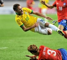 South Korea 0-2 Brazil: Neymar sets the tone in easy win
