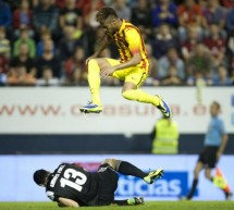 Osasuna 0-0 Barcelona: Points dropped for the first time in the season