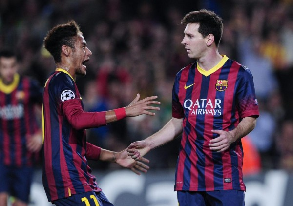 Neymar excited to play with Lionel Messi