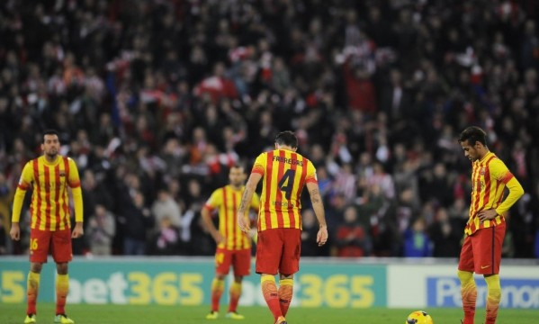 Athletic Bilbao 1-0 Barcelona: Another defeat, this time in La Liga
