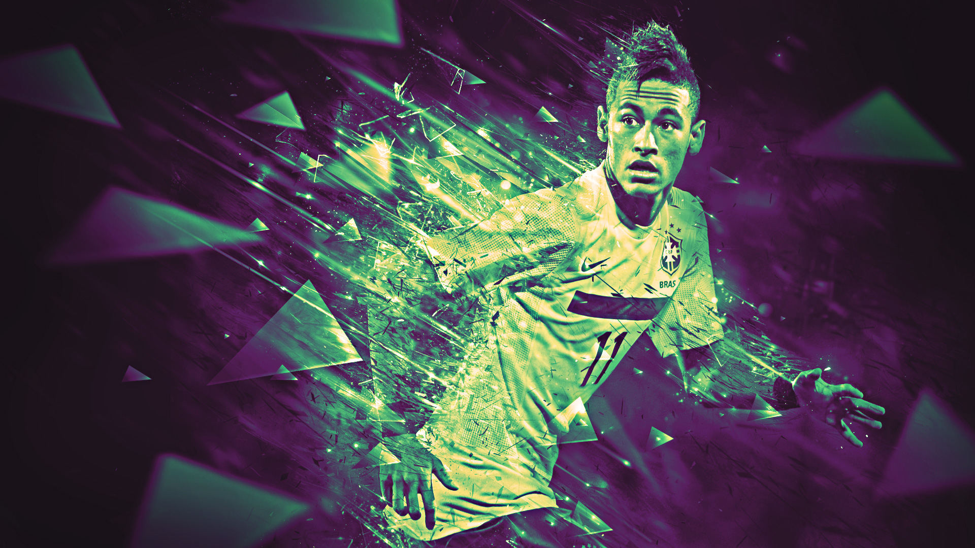 Neymar wallpapers in 2016  Barcelona and Brazil