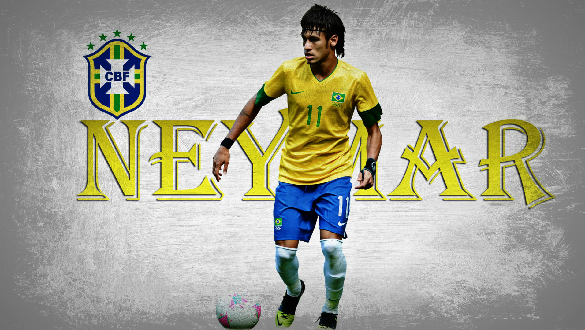 Celebrate Brazil's Bright Soccer Future With Neymar Wallpapers