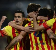 Getafe 2-5 Barcelona: Pedro hat-trick led the remontada