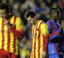 Levante 1-1 Barcelona: An unexpected slip