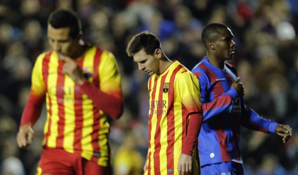 Alexis Sánchez and Messi disappointed after dropping points in the league