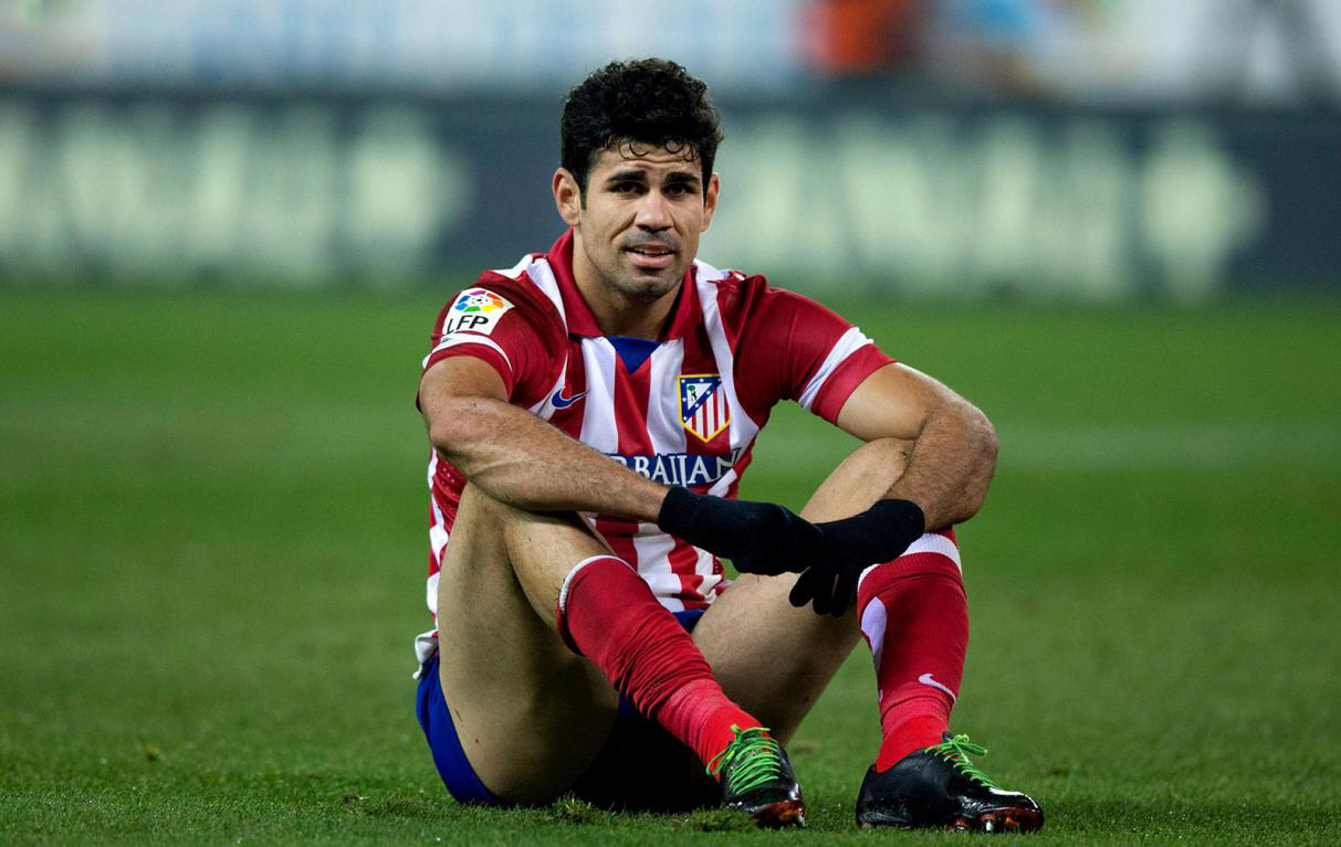 Diego Costa in Atletico Madrid 2014
