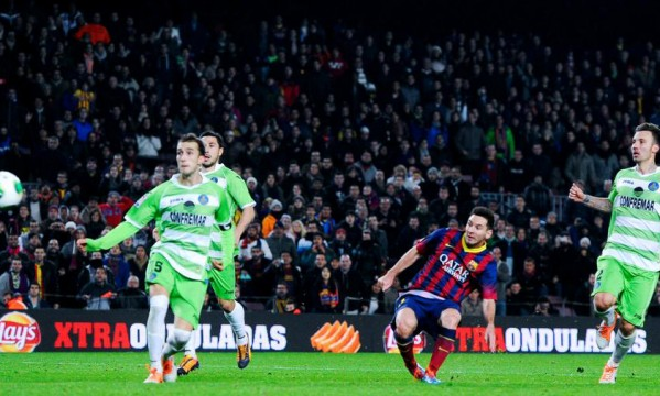 Barcelona 4-0 Getafe: Messi celebrates return with a double