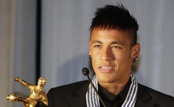 Neymar interview in the FIFA Ballon d'Or 2013