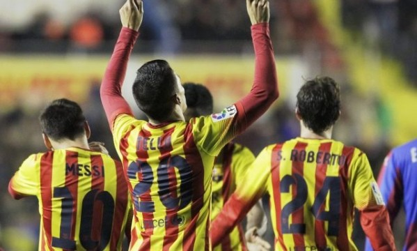 Levante 1-4 Barcelona: Tello hat-trick made it right this time!