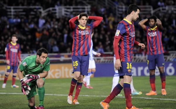 Barcelona slip again and drop 3 points