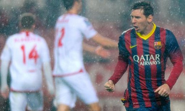 Sevilla 1-4 Barcelona: Messi finally finds his rhythm