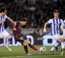 Real Sociedad 1-1 Barcelona: Messi helped securing a new Cup final