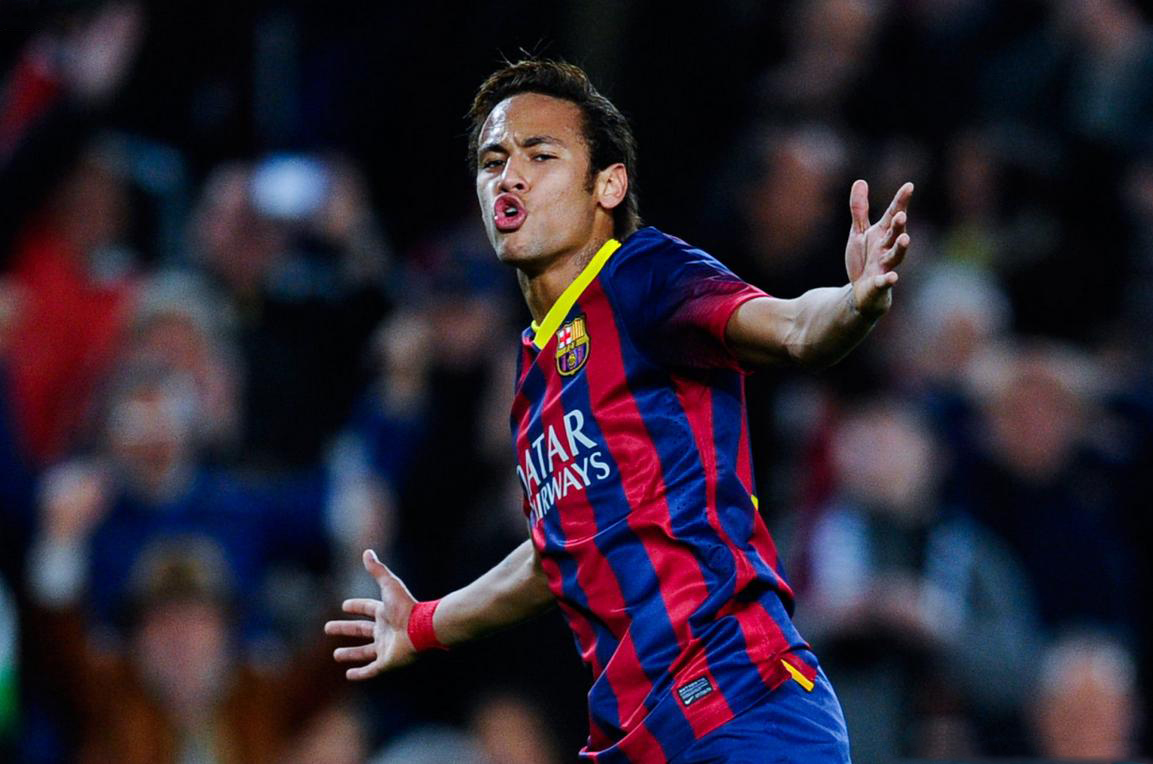 Neymar returns and scores for FC Barcelona