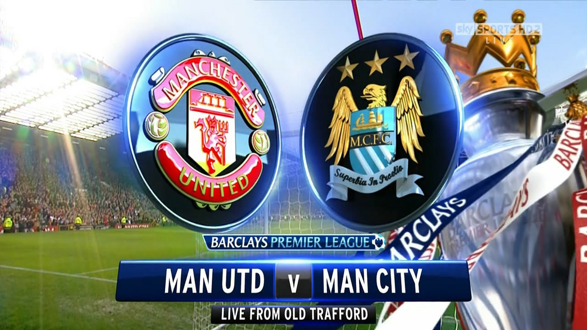 Manchester United vs Manchester City live on Sky Sports