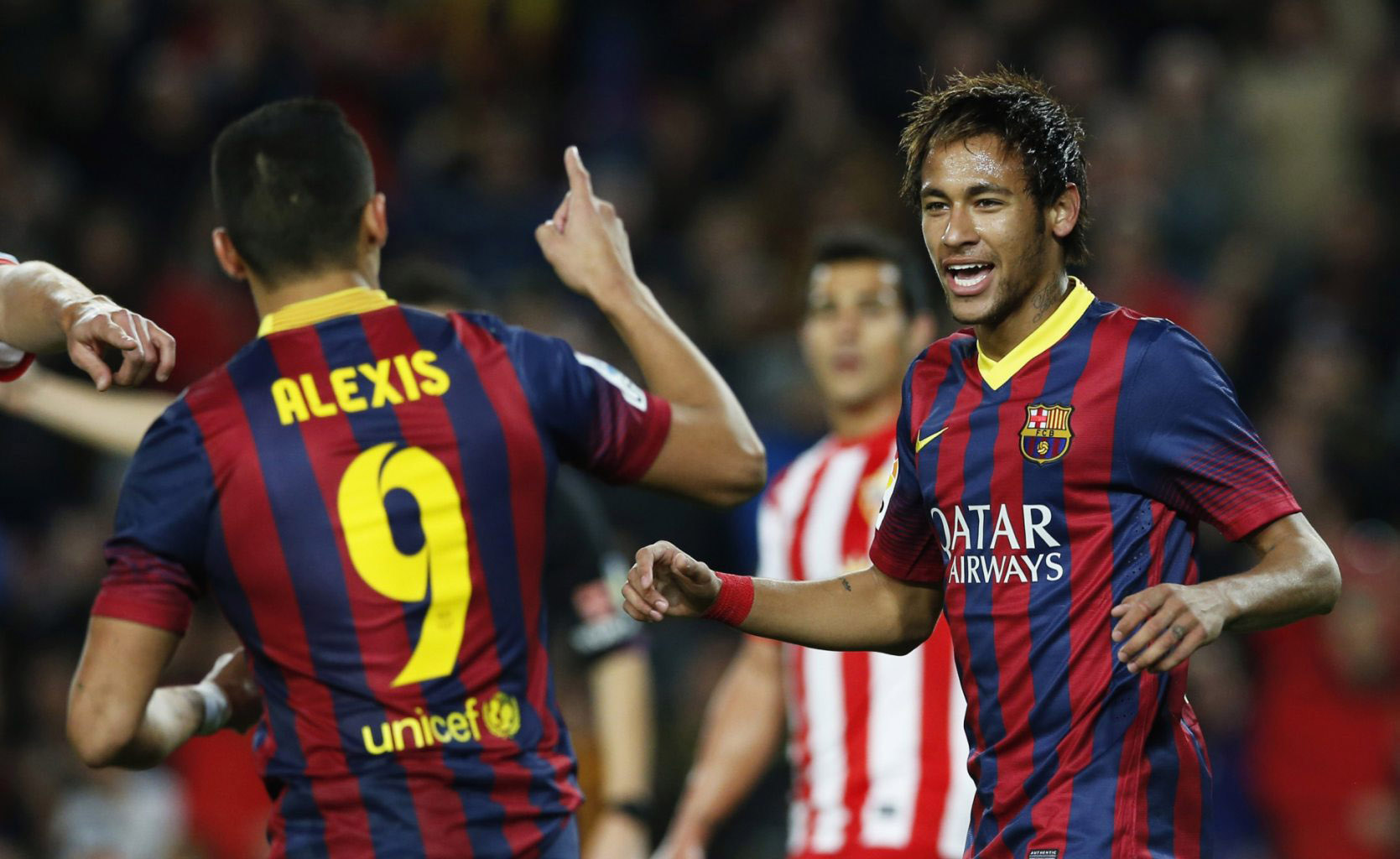 Alexis Sánchez and Neymar Jr