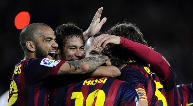 Barcelona 4-1 Almeria: The chase is on!
