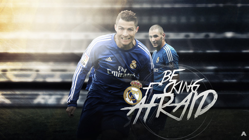 Cristiano Ronaldo and Benzema ready for the Clasico vs Barcelona