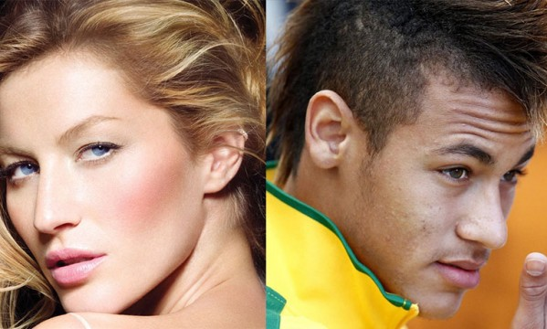Neymar and Gisele Bundchen get featured on Vogue's cover