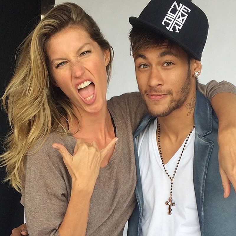 Gisele Bundchen and Neymar Jr photo shoot for Vogue