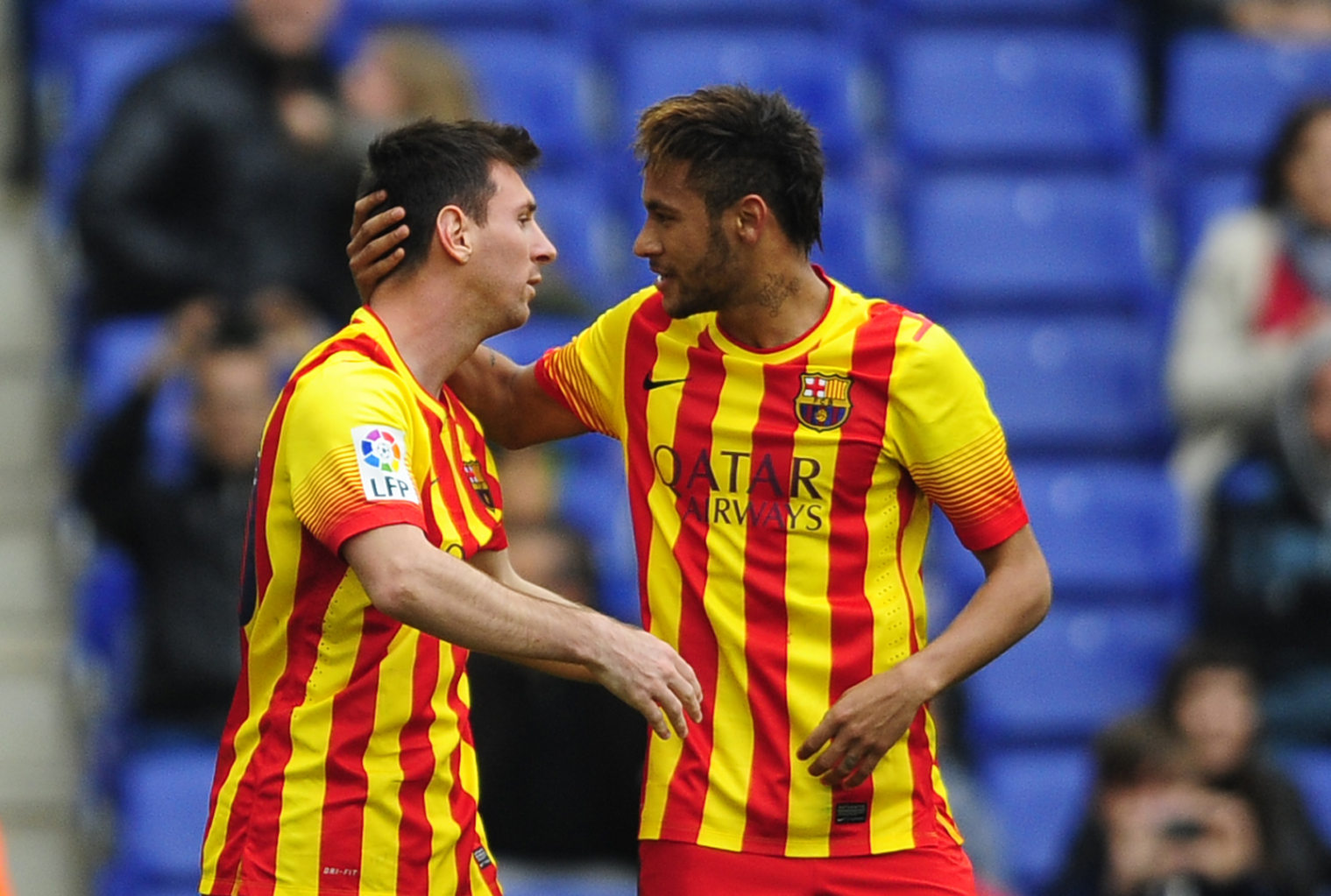 Lionel Messi and Neymar in FC Barcelona