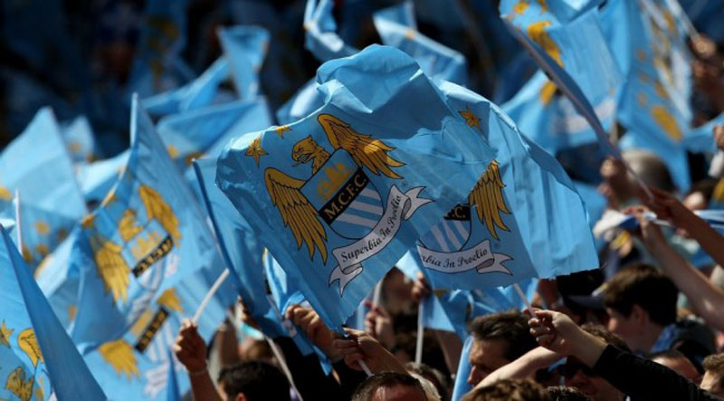 Manchester City fans in 2014