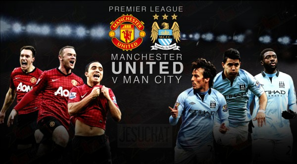 Manchester United vs Manchester City wallpaper