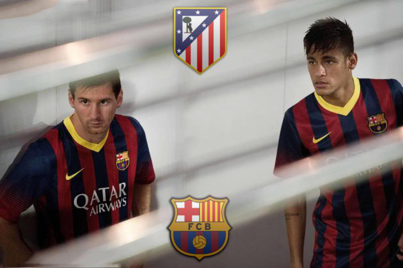 Messi and Neymar ready for Atletico