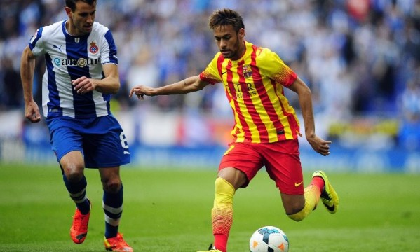 Espanyol 0-1 Barcelona: Neymar draws the decisive penalty