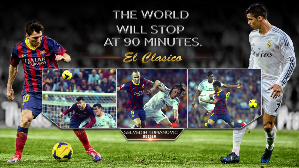 Real Madrid vs Barcelona wallpaper