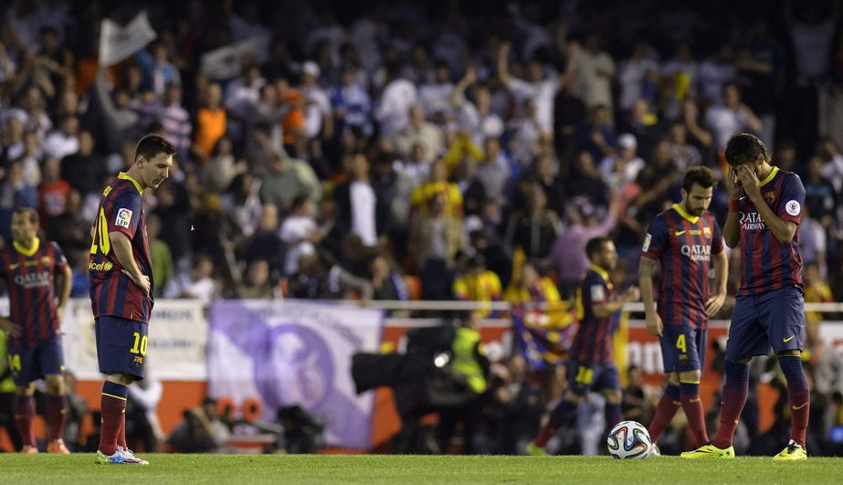 FC Barcelona players disappointed with Clasico outcome
