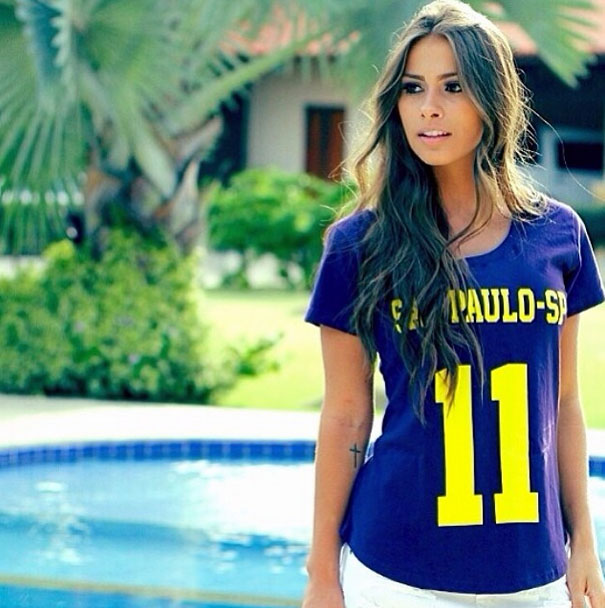 Gabriella Lenzi, Neymar new girlfriend photoshoot