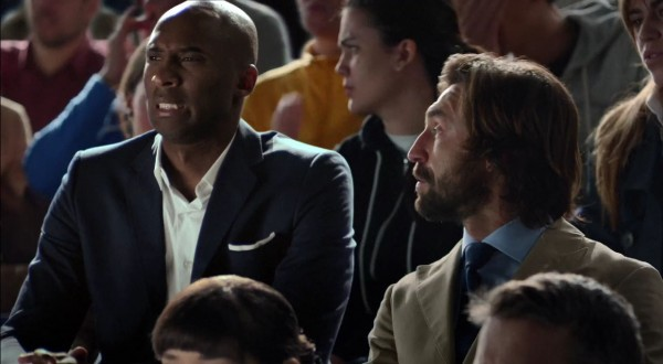 Kobe Bryant and Andrea Pirlo in Nike's new video ad