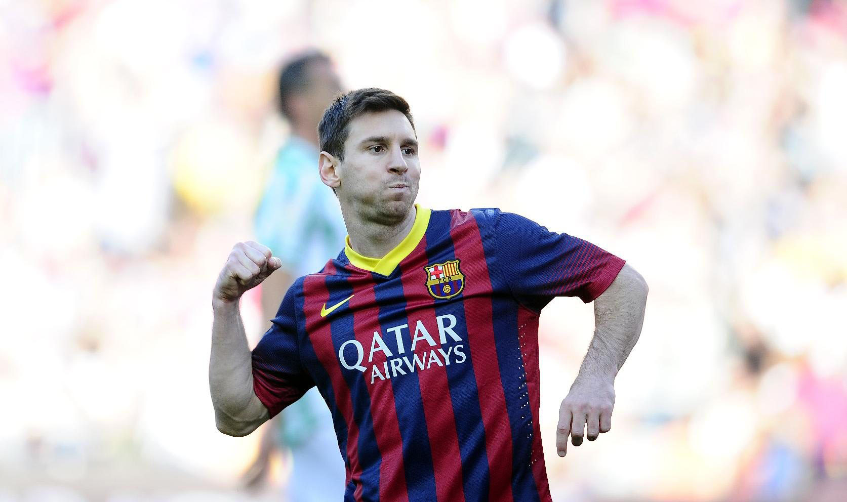 Lionel Messi can't stop scoring