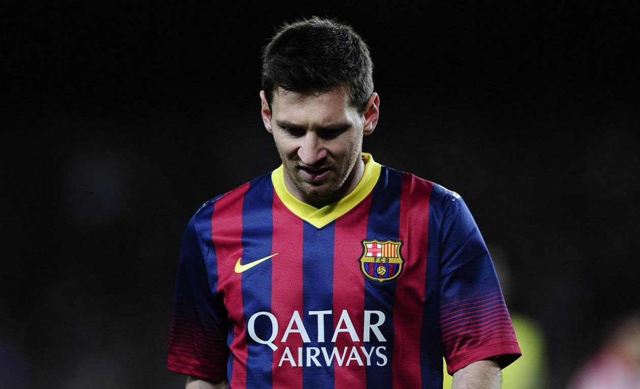 Lionel Messi in Barcelona 2-1 Athletic Bilbao