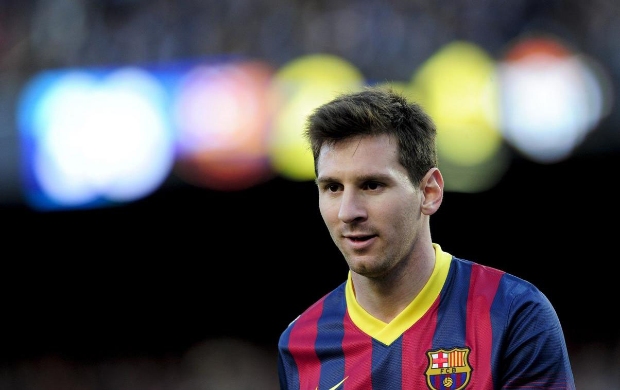 Lionel Messi in great form for Barcelona
