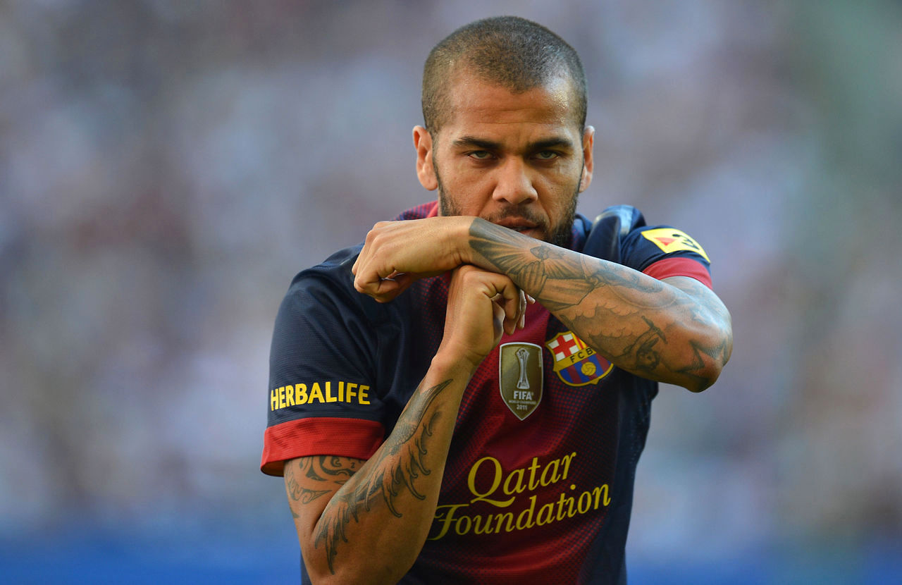 Daniel Alves, FC Barcelona right-back