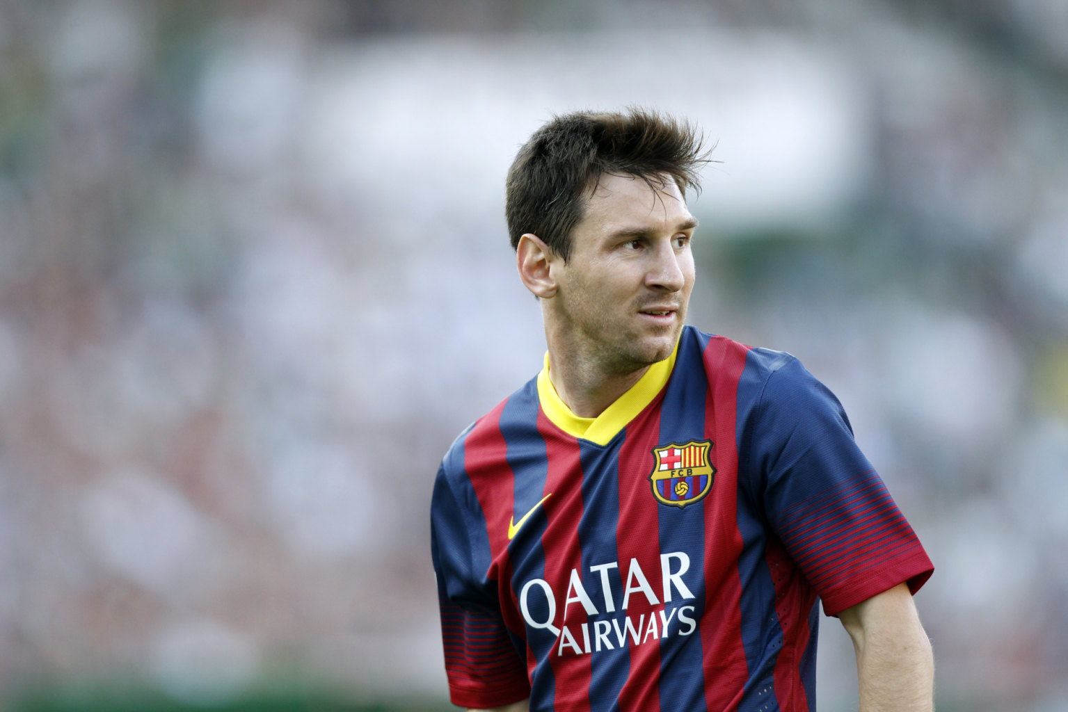 Lionel Messi in FC Barcelona 2014