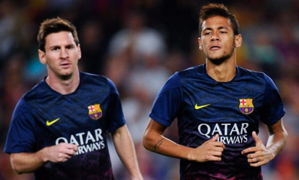 "Neymar: ""I have a great relationship with Messi"""