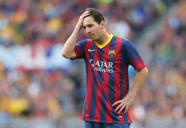 Lionel Messi running out of ideas